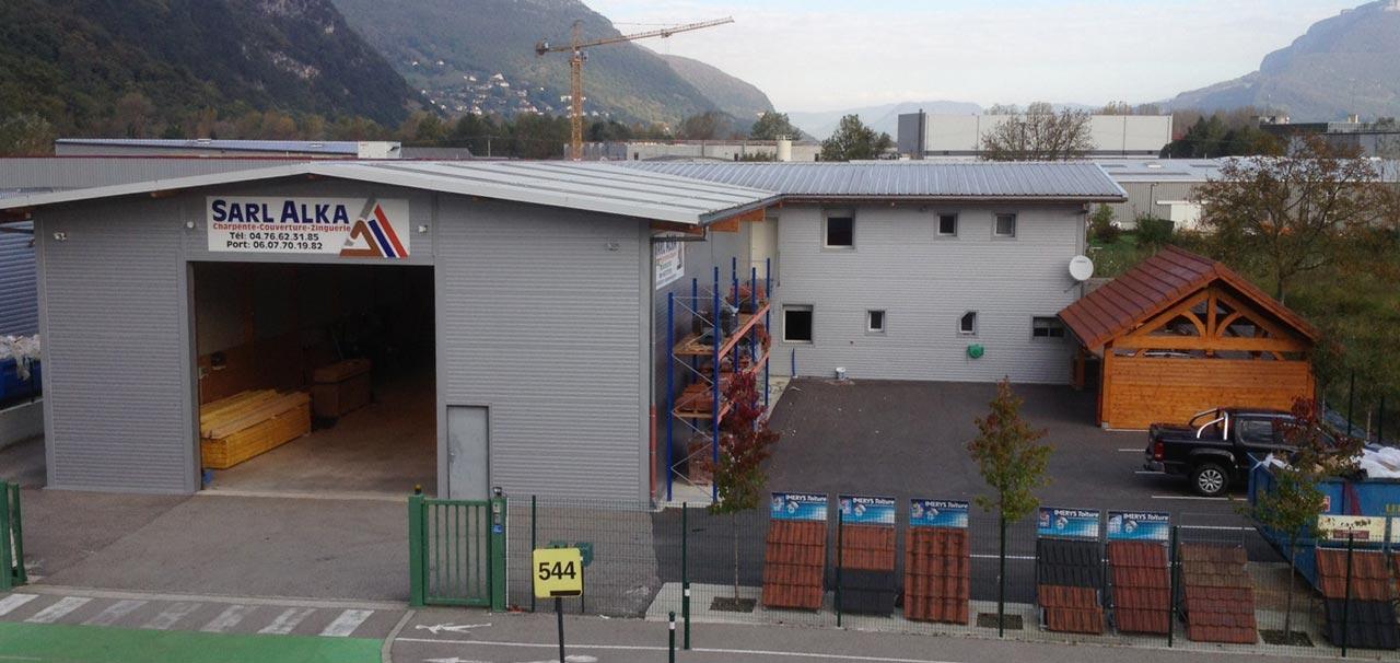 Bâtiment ALKA CHARPENTE à Veurey-Voroize